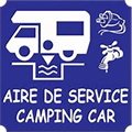 Motorhome service area